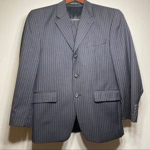 Lauren Ralph Lauren Men's Black Suit 100% wool 38s